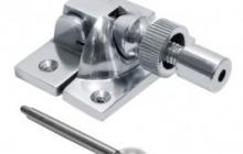 Lockable Brighton fastener Polished chrome
