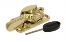 Lockable fitch fastener Brass