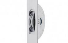 Satin chrome pulley wheel