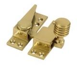Straight arm fastener brass